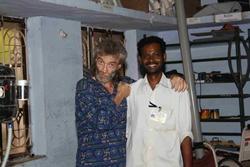 Jean-Christian et son collègue indien