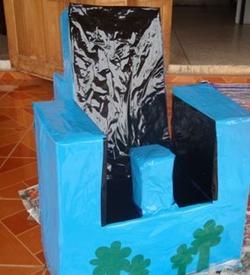 Une chaise fabrication maison