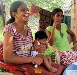 Humanitaire au Sri Lanka
