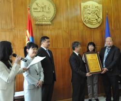 Projects Abroad proclamée meilleure ONG œuvrant en faveur des enfants en Mongolie