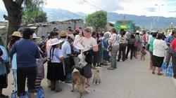 humanitaire en Bolivie
