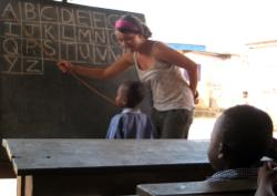Teaching in Ghana