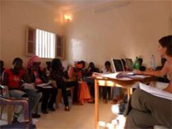 Atelier de sensibilisation aux MST au Sénégal