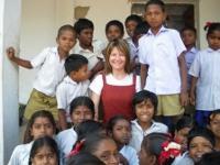 Marie-Laure en Inde