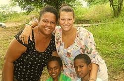 humanitaire aux Fidji