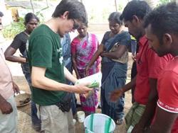 Inde: Agriculture biologique et éducation à l'environnement