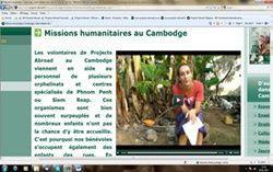 Missions humanitaires au Cambodge en vidéo
