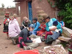 projet archéologie au Pérou