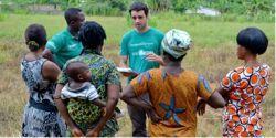 Etudiant d'école de commerce en stage micro-finance au Ghana
