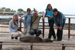 Une famille en mission aux Galápagos