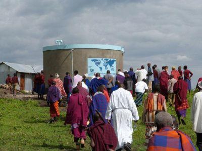 Projet accès à l'eau dans un village Massaï en Tanzanie