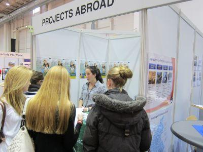 Information stand Projects Abroad