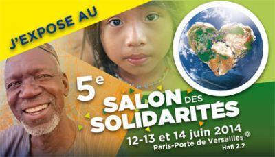 Le Salon des Solidarités, Paris, juin 2014