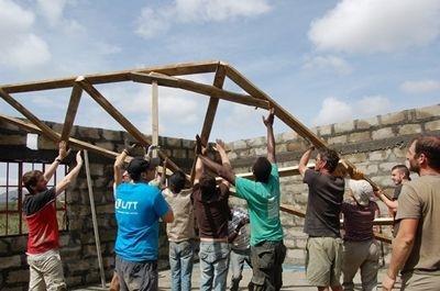 Chemins Croisés 2014– Mission de construction