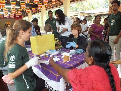 Volontaire médecine au Sri Lanka