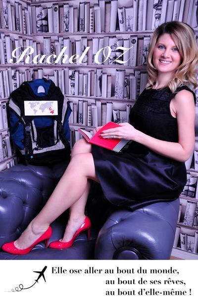 La couverture du livre de Rachel qui raconte son projet de volontariat