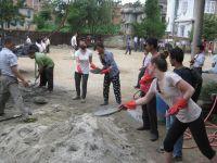 六月一日起開展的尼泊爾災後支援及重建項目