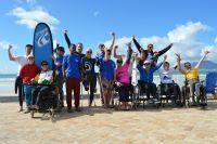 Cerebral Palsy surfer makes waves in South Africa