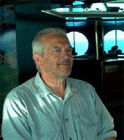 Alberto è un volontario italiano di 65 anni