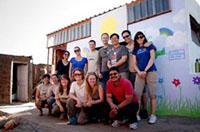 Volontariato d'impresa: partenza di gruppo con i colleghi