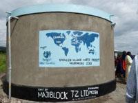 Progetti di Acqua e Igiene: completato un nuovo impianto in  Tanzania!