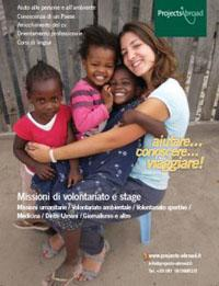 Nuove pagine per il sito di Projects Abroad Italia