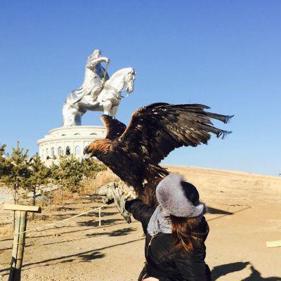 volontaria-falco-mongolia