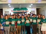 フィリピンでプロジェクトアブロードが表彰されました!