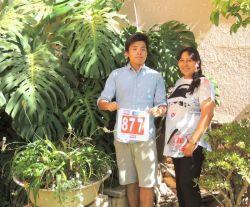 音楽プロジェクトに参加中のボランティアが市民マラソンに参加! In Bolivia