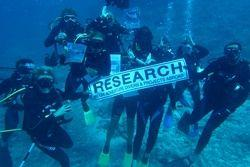 Diving research team