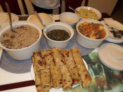 ホストマザーに教わるケニアの家庭料理教室