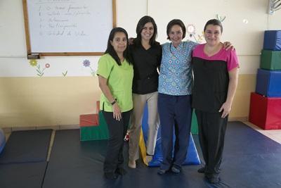 プロジェクトアブロードの活動先の一つ、コスタリカの特別支援施設