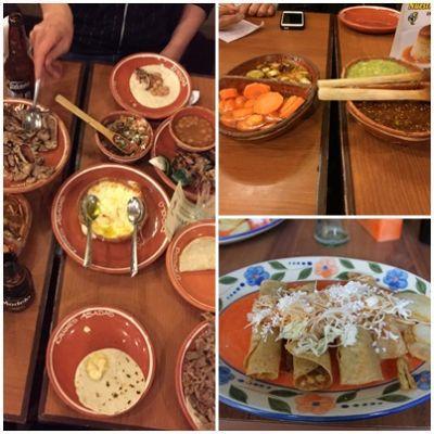 メキシコで食べられている食事
