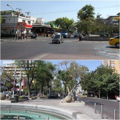 メキシコの活動拠点の町