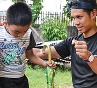 フィリピン障がい予防とリハビリテーションウィークでインターンが活躍!