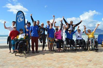 南アフリカでサーフィン!Adaptive Surfing Championship大会寸前の様子