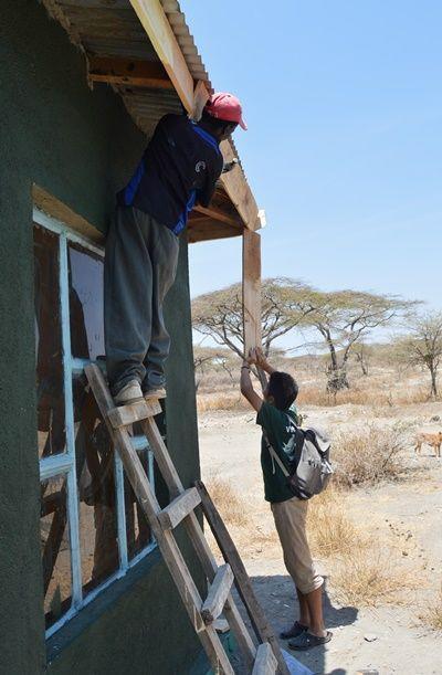 村落開発プロジェクト タンザニアで建築活動に貢献するボランティア