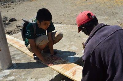 タンザニアのEsere村 村落開発ボランティア 現地教師のための住居建設に貢献!