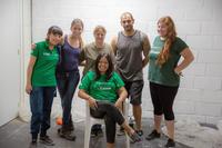 プロジェクトアブロードの地元提携団体が、メキシコで移民のために新しい宿舎を建設