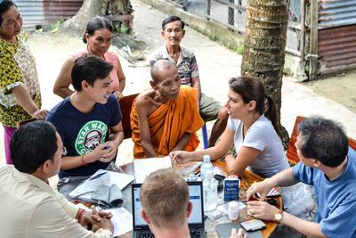 In Cambodja kun je tijdens een medische stage je kennis uitbreiden door medical outreaches bij te wonen.
