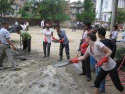 Hjälpprojekt i Nepal, påbörjas 1 juni 2015