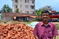 Projects Abroad gör  framsteg med återuppbyggnadsprojektet i Nepal