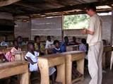 Sebastian Thomas teaching a summer school class
