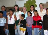Volunteers and their students