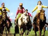 Children's horse race