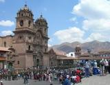 Central square in Cusco