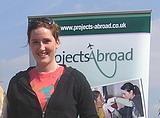 20,000th volunteer, Manon Oliver