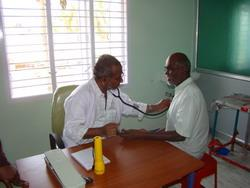 First patient for the clinic