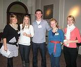 Volunteers at-a previous information evening