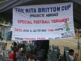 Projects Abroad hold football tournament in Ghana